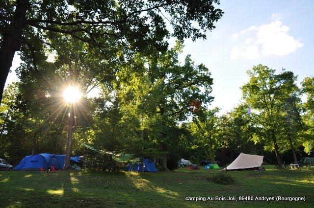 der campingplatz camping au bois joli cool camping. Black Bedroom Furniture Sets. Home Design Ideas