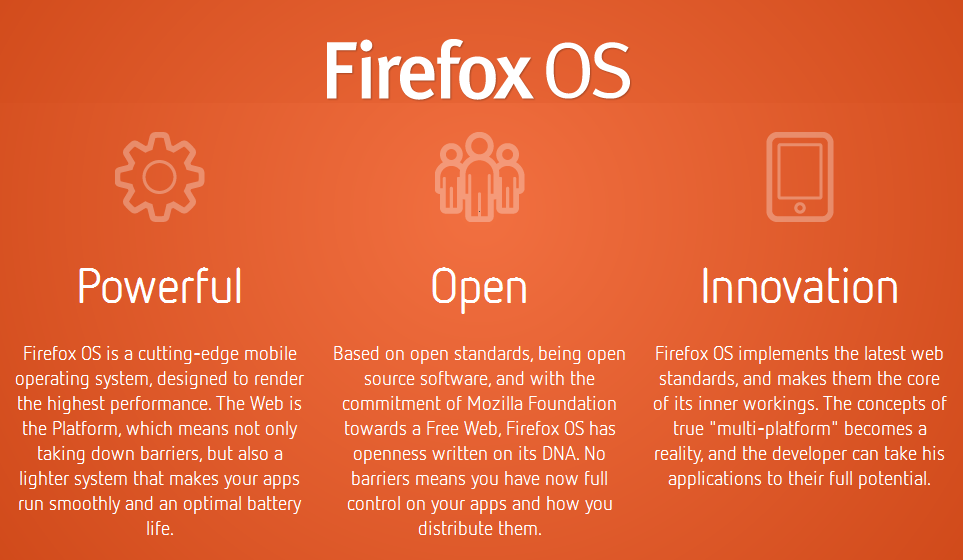 mozilla os optimal battery run smooth free web