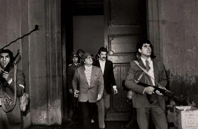 Salvador Allende, Palacio de la Moneda
