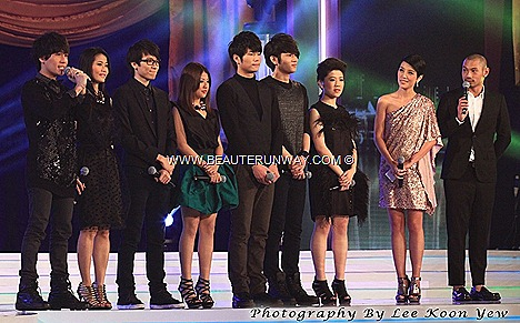 Sunsilk Academy Fantasia finalists Vee hui Xian Chloe Jessie Jun Yang Zhang Chi Irwin ET STARHUB TVB AWARDS 2012 hong kong kevin cheng moses sunny ruco chan myolie wu linda chung chen fala tavia yeungMobile App Starhub KARAOKE