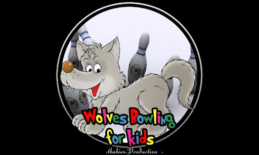 Wolf bowling for kids