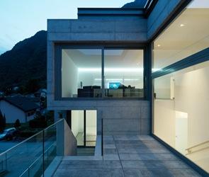 Moderna Casa en Lumino  Davide Macullo