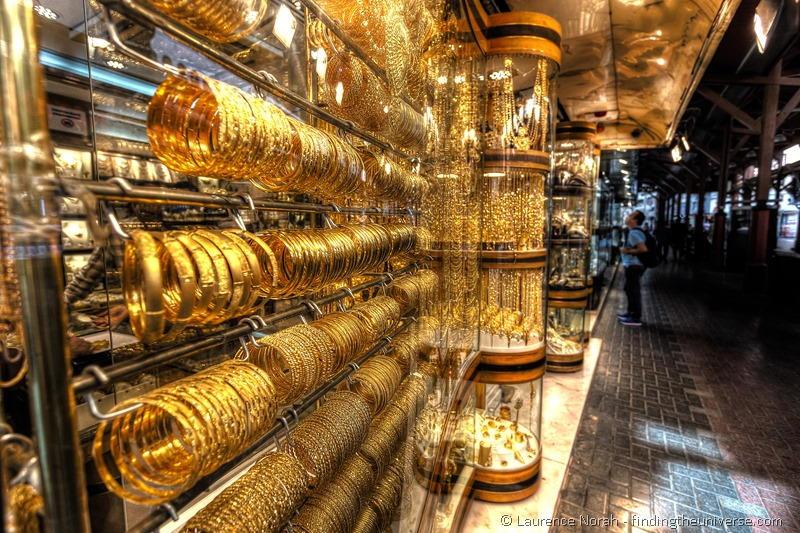 Essential Dubai Activities Gold souk