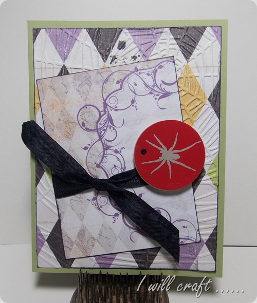 havestampswillcraft red spider card
