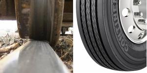 rail wheel and bus tire