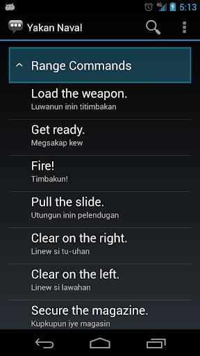 【免費通訊App】Yakan Naval Phrases-APP點子