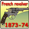 French service revolver M 1873 icon