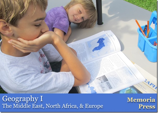 Review of Geography I from Memoria Press @ Homeschooling Hearts & Minds
