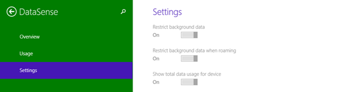 Data Sense Settings in Windows 10 PC Settings (www.kunal-chowdhury.com)