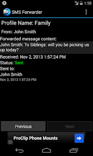 SMS Forwarder - screenshot thumbnail