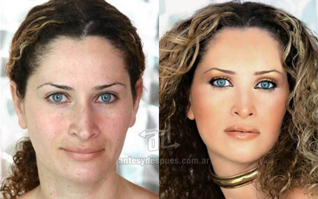 Before and after make-up artists 12