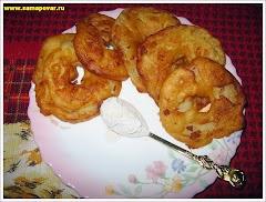 Яблочные дольки в тесте. www.samapovar.ru