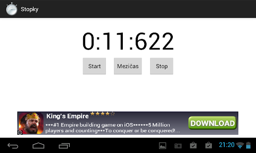 Stopwatch - screenshot thumbnail