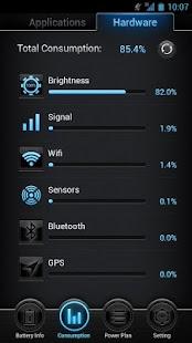Battery optimizer and Widget Screenshot