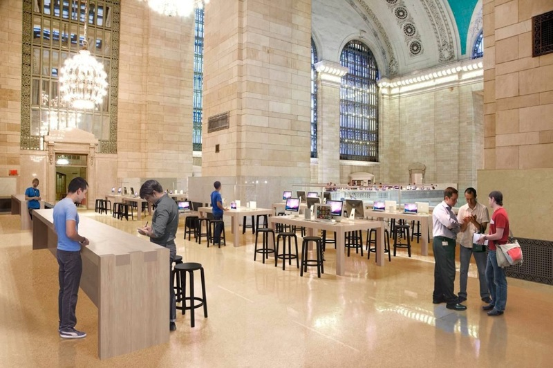 The grand central apple store will open on black friday if not sooner
