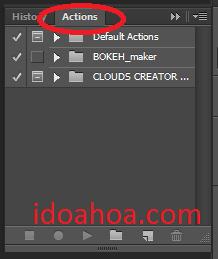 Hướng dẫn load và chạy Action trong Photoshop