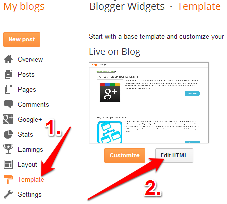 Cara Memasang Widget Contact Form di Halaman Statis Blog