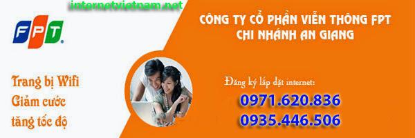 Đăng Ký Lắp Đặt Internet FPT Tại An Giang
