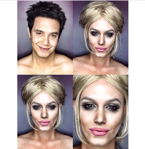 PHOTOS: Dad Transforms Himself Into Celebrities Using Makeup And Wigs 28