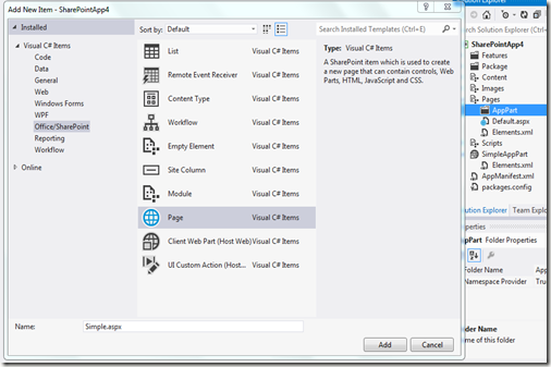 Melick's Blog: Step by Step guide to create a Client App