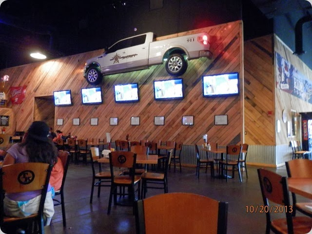 Inside Toby Keith's Bar/Restaurant