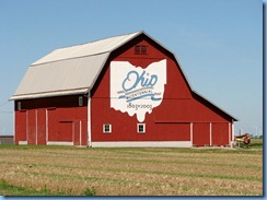 3922 Ohio -btwn Middle Point & Van Wert, OH - Lincoln Highway (County Road 418) - Ohio Bicentennial barn