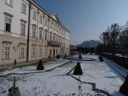Obiective turistice Salzburg: Gradina si Palatul Mirabel
