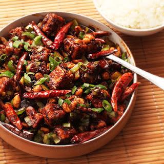 Crispy Kung Pao Tofu