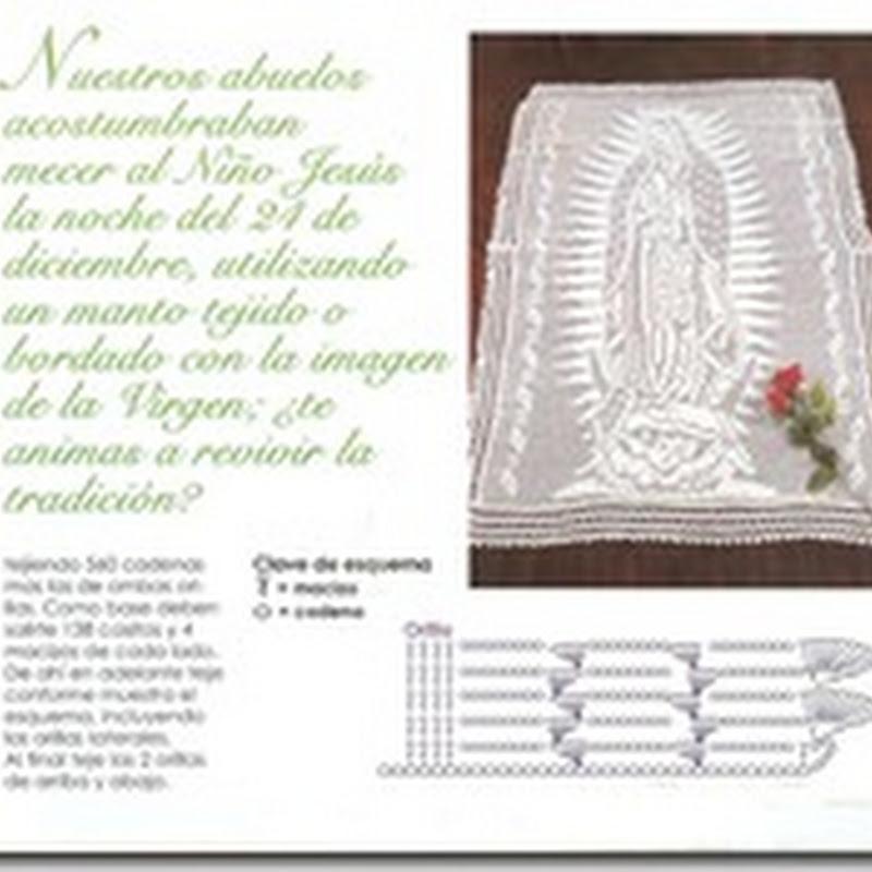 virgen de Guadalupe a crochet