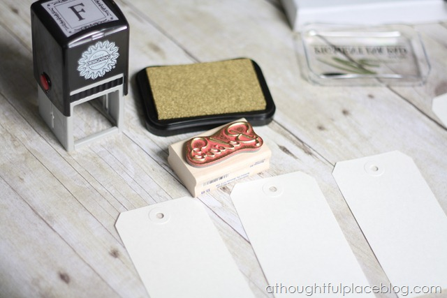 DIY} Christmas Gift Tags - A Thoughtful Place