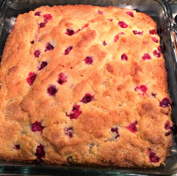 cranberry orange breakfast cake