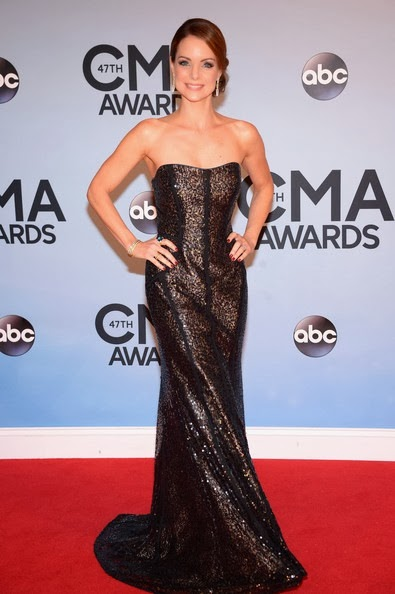Kimberly Williams-Paisley attends the 47th annual CMA Awards