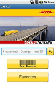 DHL ACTIVETRACING - screenshot thumbnail