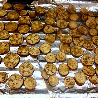 Broiled Eggplant with Capers and Mint