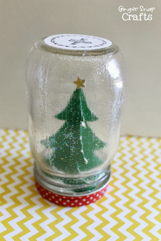Snow Globe from GingerSnapCrafts.com