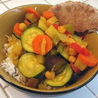 Marrakesh Vegetable Curry.