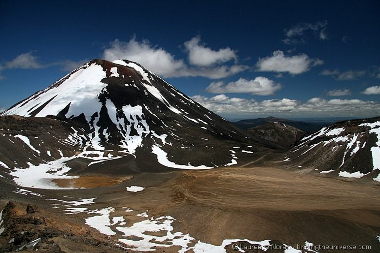 Mount Ngauruhoe and the South Crater