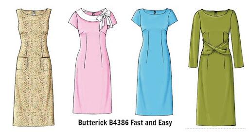 New Look 6340 | Enkla klänningar, Klänningsmönster, Sy