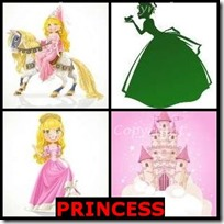 PRINCESS- 4 Pics 1 Word Answers 3 Letters