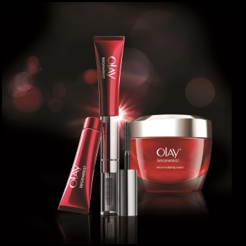 Olay Regenerist NEW Microsculpting Cream and MicroSculpting Eye Cream and Lash Serum Duo