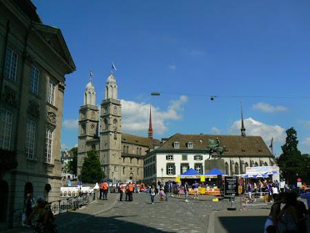 Weekend la Zurich, Elvetia