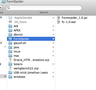 how to setup Formspider, an APEX alternative on GlassFish/Apache