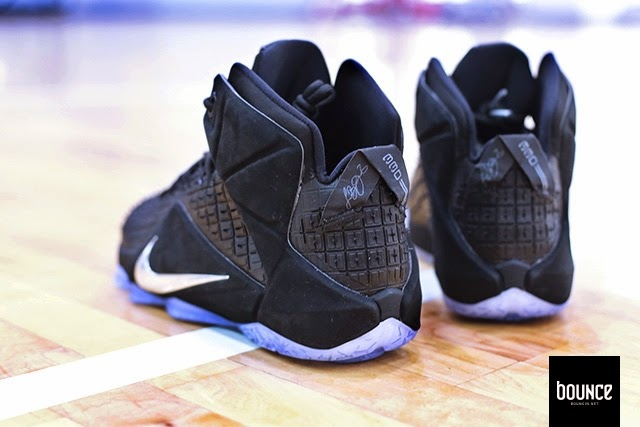new product 5238e da6ba ... Detailed Look at NSW8217s LeBron XII EXT Black 8220Rubber City8221 ...