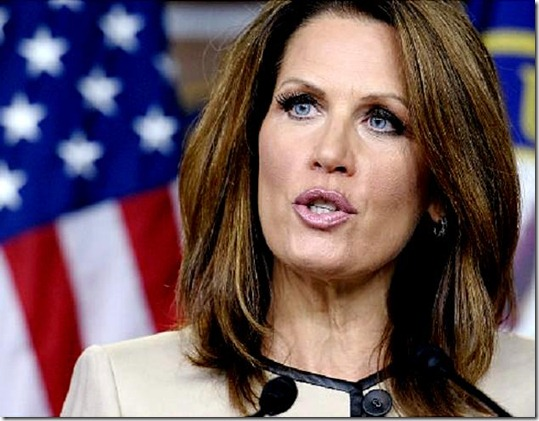 Republican presidential candidate Rep. Michele Bachmann, R-Minn., delivers the Republican response to the speech by President Barack Obama to a joint session of Congress at the Capitol in Washington, Thursday, Sept. 8, 2011.  (AP Photo/Cliff Owen)   Original Filename: Obama Jobs.JPEG-0caf6.jpg