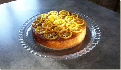 zesty orange and poppy seed cake