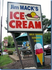 2051 Pennsylvania - PA Route 462, York, PA - Lincoln Highway -  1950 Jim Mack's Ice Cream