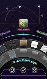 Next Launcher Theme  3D Magic Screenshot 6