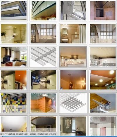 Falsos techos de aluminio Terrassa