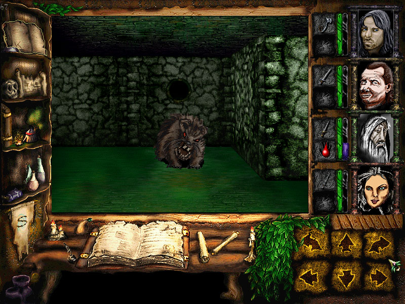Indie Retro News: Cardhalia - Retro Dungeon Crawler RPG