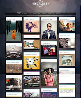 Template Blogspot - Escalate Gallery - Responsive